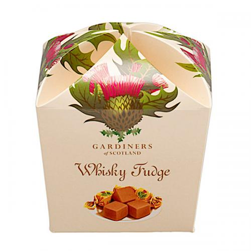 Whisky Fudge Thistle 250g
