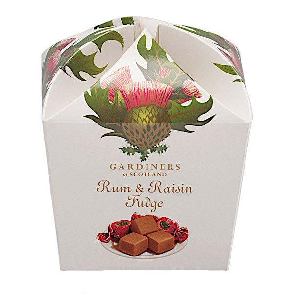Rum&Raisin Fudge Thistle 250g
