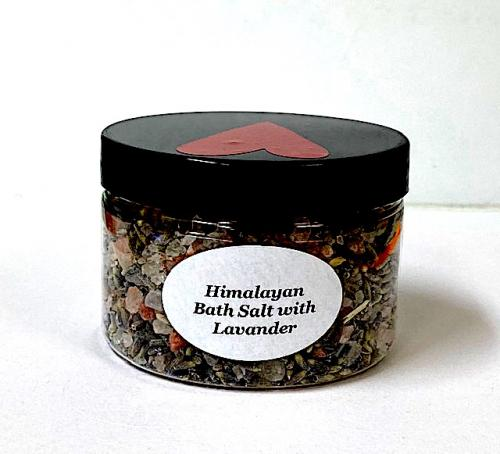 Himalayan Bath Salt with Lavander 120gr