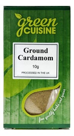 Kardemumma, Malen / Cardamom Ground 10g
