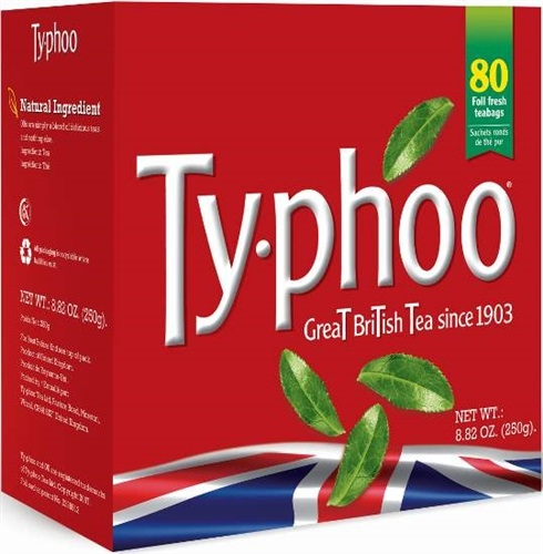 Typhoo Tea Bags 80s