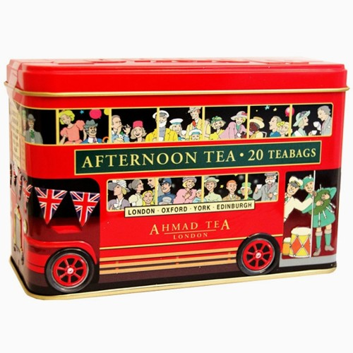 London Bus Afternoon Te 20 Tepåsar