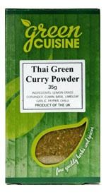 Thai Grönt Curry Pulver / Thai Green Curry-Mix 35g