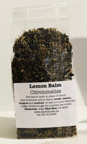 Citronmeliss / Lemon Balm 40gr