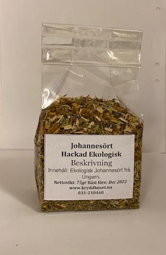 Johannesört Hackad Ekologisk 75gr