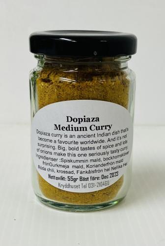 Dopiaza Medium Curry Powder 55gr