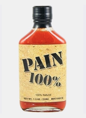 ​Original Juan PAIN 100 percent Hot Sauce​