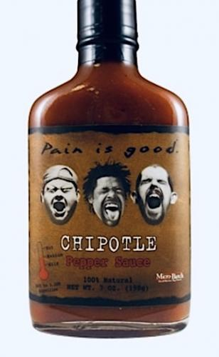 ​Most Wanted Pain is Good Chipotle Hot Sauce​