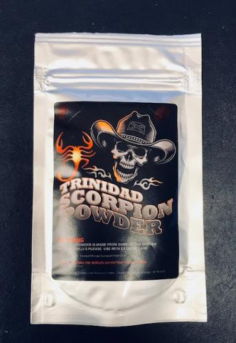 Trinidad Scorpion Powder - 2nd Worlds Hottest Chilli Powder 20g