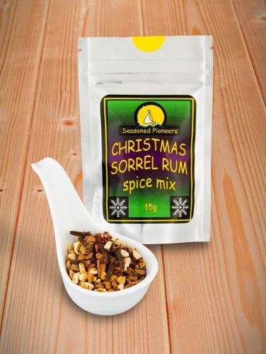 Caribbean Sorrel Rum Spice Mix 15g/ Karibisk Sorrel Rum Kryddblandning