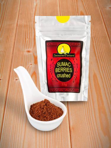 Sumac Berries, Crushed 33gr