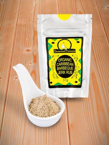 Ekologisk Karibisk  Jerk krydda  37gr