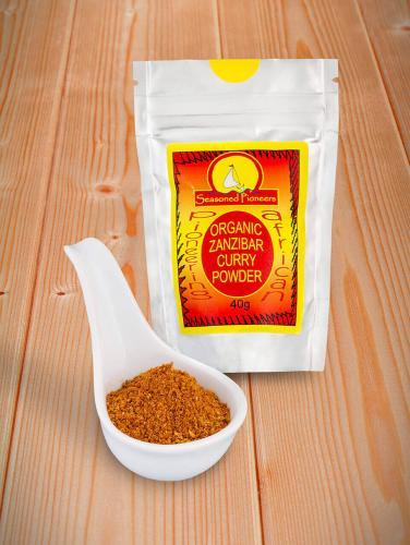 Ekologisk Zanzibar Curry Pulver  40gr
