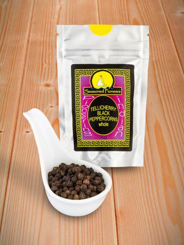 Black Peppercorns Tellicherry, Whole 30g  /Svartpepparkorn Tellicherry