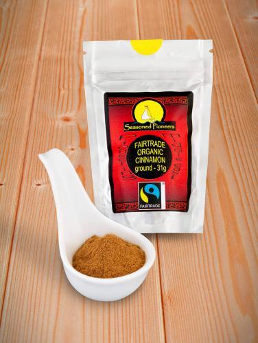 Fairtrade & Ekologisk kanel Mald 31gr