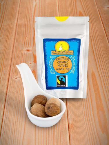 Fairtrade & Ekologisk Muskotnöt Hela 30gr
