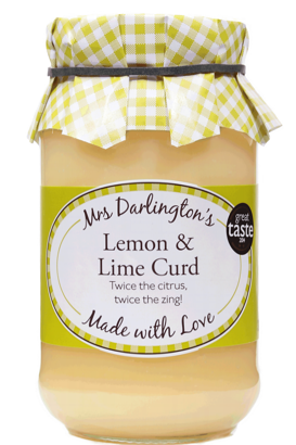 Mrs Darlington's ​Lemon & Lime Curd​​​​​​ 320g