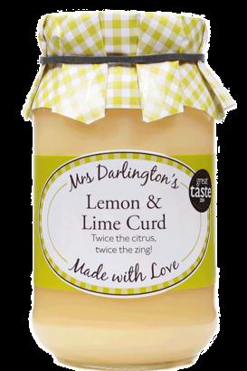 Mrs Darlington's Lemon & Lime Curd 320g
