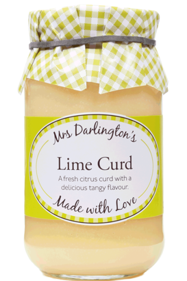 Mrs Darlington's Lime Curd 320g​​​​​