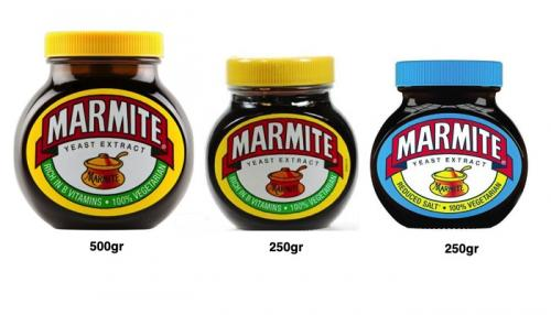 Bundle of 3 - Marmite Yeast Extract 2x250gr & 500gr
