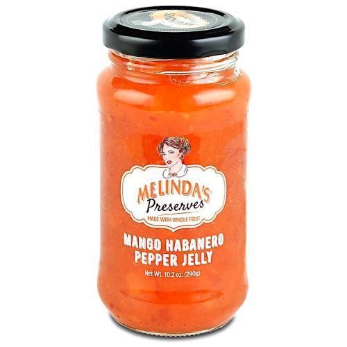 Melinda's Whole Fruit Preserves Mango Habanero Pepper Jelly