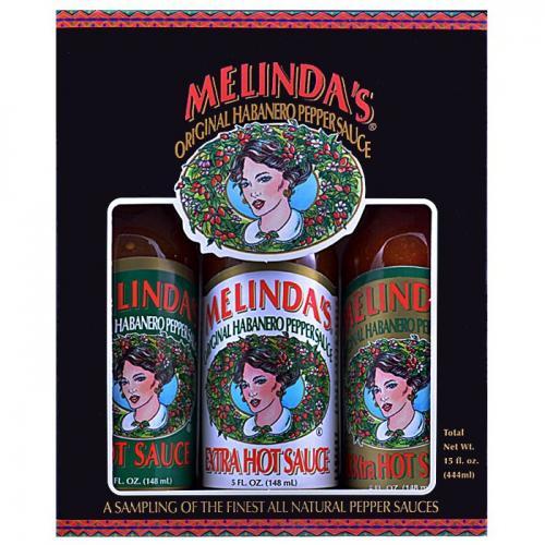 MELINDA'S CLASSIC HOT SAUCE 3 PACK