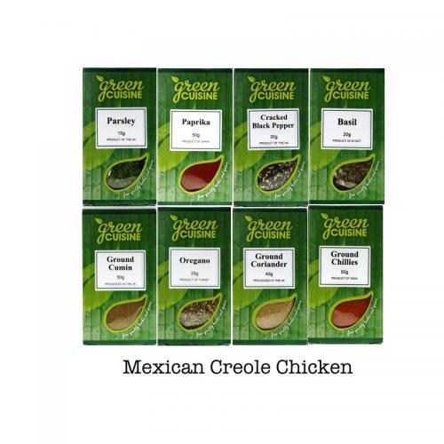 Creole Chicken 8 olika kryddor