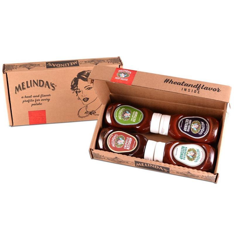 Melinda's Spicy Gourmet Ketchup 4-Pack