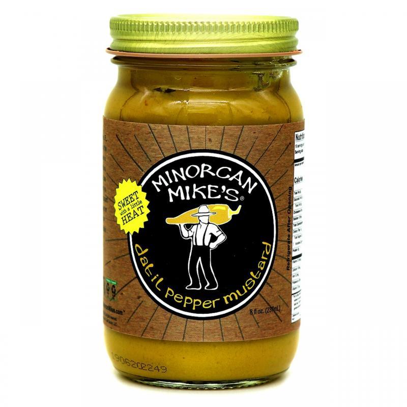 Minorcan Mike's Datil Pepper Mustard 237ml