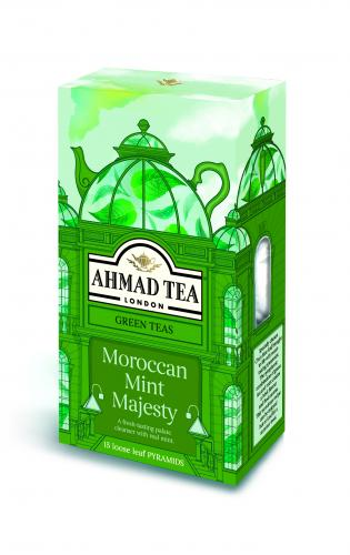 MOROCCAN MINT MAJESTY 15 Pyramid Tea Bags