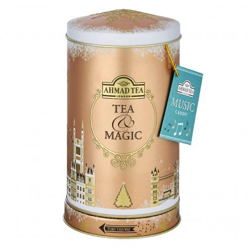 ROUND MUSIC CADDY (TEA & MAGIC) 80g Earl Grey