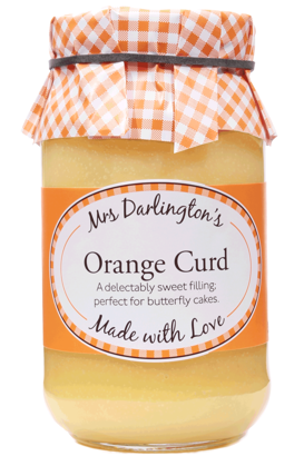 Mrs Darlington's Orange Curd​​​​​ 320gr