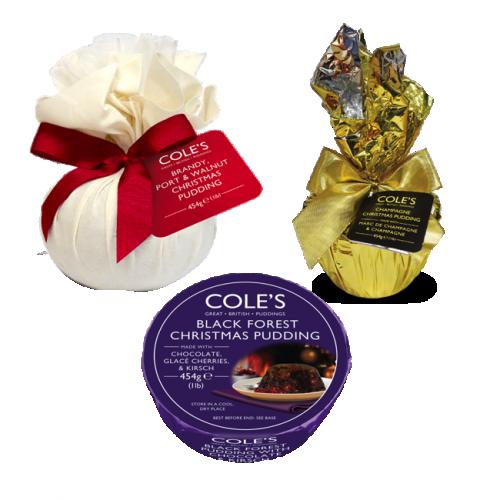 COLE'S CLASSIC CHRISTMAS PUDDING Bundle