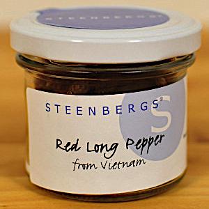 Röd lång peppar 40g