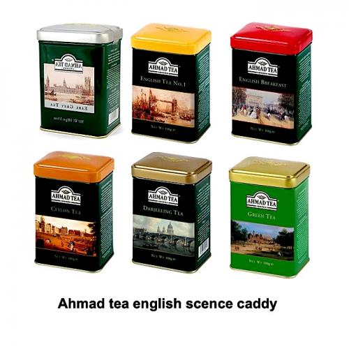 Ahmad Tea English Scence Caddy 6x100gr