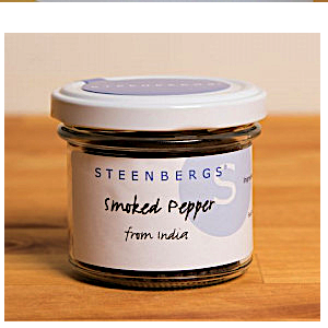 Rökt svart pepparkorn / Smoked Black Pepper 50g