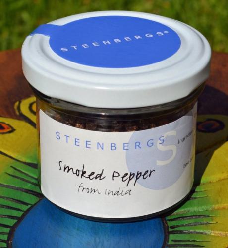Rökt Svartpeppar / Smoked Black Pepper 50g