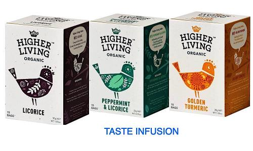 Higher Living Taste Infusion​ 3x15 teabags