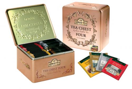 TEA CHEST FOUR ( 4x10 Teabags )