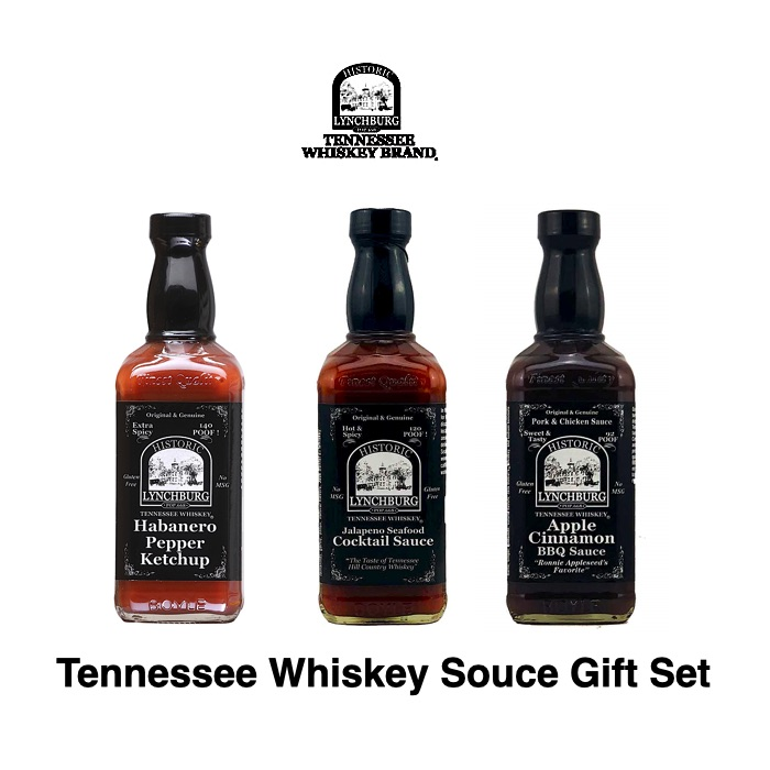Tennessee Whiskey Souce Gift Set