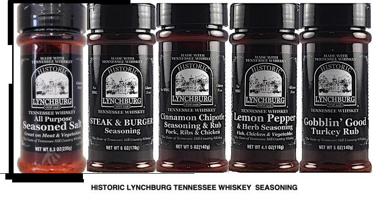Historic Lynchburg Tennessee Whiskey Seasoning