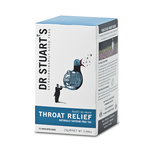Halsen Relief Te / Throat Relief 15 tepåsar