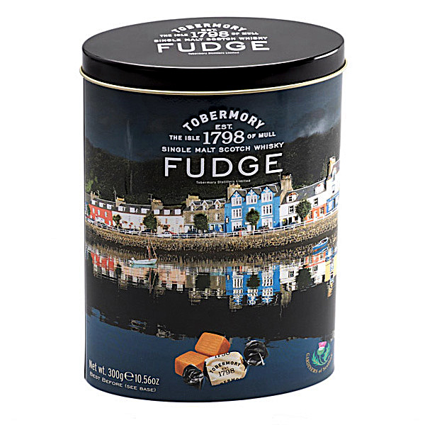 Tobermory Fudge Tin 300gr