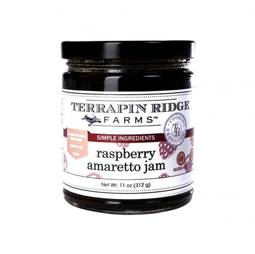 Raspberry Amaretto Jam 312gr