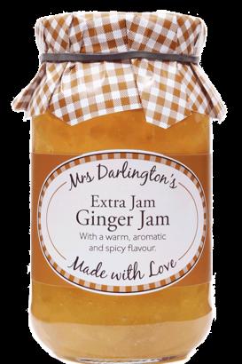 Mrs Darlington's Extra Jam, Ginger Jam 340g