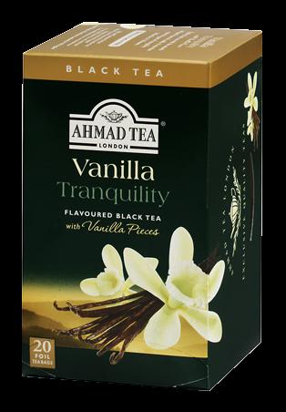 Ahmad Te Vanilj te 20 Tepåsar / VANILLA TRANQUILITY