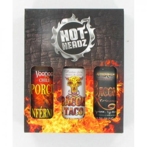 VOODOO BACON HOT SAUCE GIFT PACK