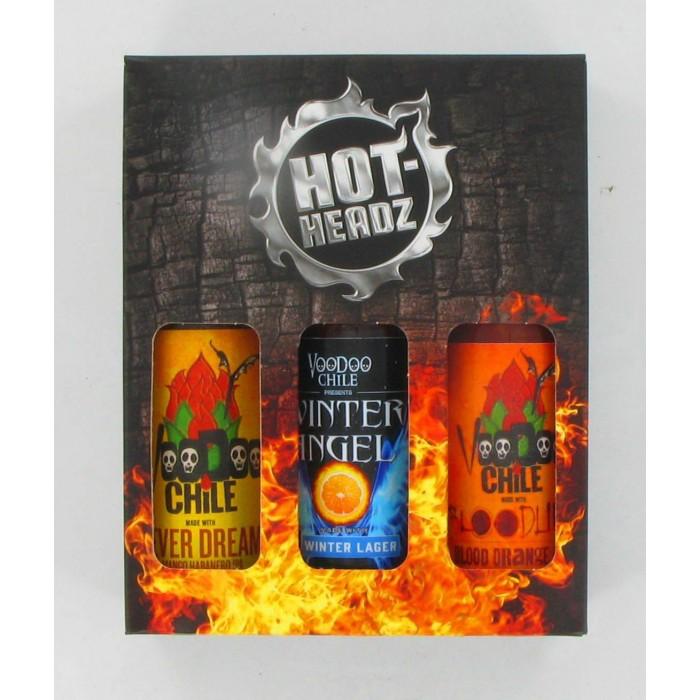 VOODOO BEER HOT SAUCE GIFT PACK