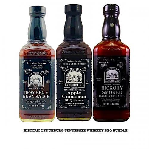 TENNESSEE WHISKEY  BBQ SAUCE BUNDLE