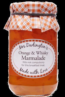 Mrs Darlington's Medium Cut Orange Marmalade With Scotch Whisky 340g